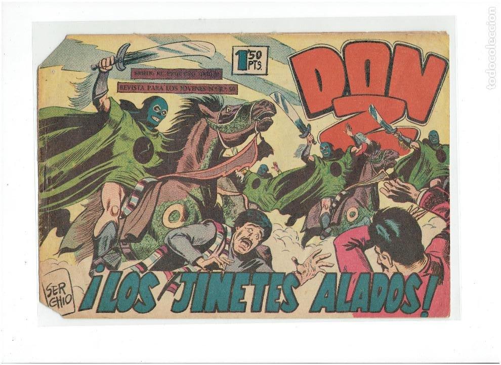 Tebeos: Archivo * DON Z * Nº 17, 21, (Serie El Pequeño Héroe) MAGA 1958 * - Foto 3 - 251346205