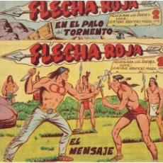 Tebeos: ARCHIVO * LEYENDAS GRAFICAS MAGA * FLECHA ROJA Nº 14, 18, 37, 54, * MAGA 1962 *. Lote 271689773