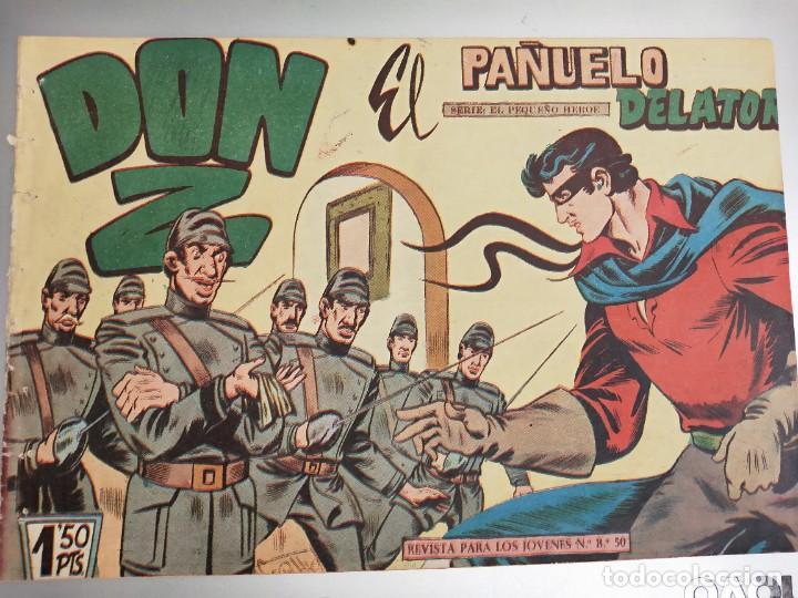 DON Z Nº 3 ED. MAGA. ORIGINAL. EL PAÑUELO DELATOR (Tebeos y Comics - Maga - Don Z)
