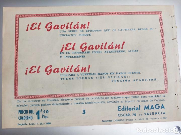 Tebeos: DON Z nº 3 ed. MAGA. ORIGINAL. EL PAÑUELO DELATOR - Foto 2 - 273197663