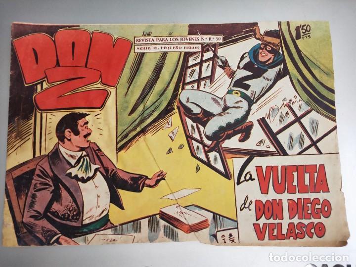 DON Z Nº 66 ED. MAGA. ORIGINAL..LA VUELTA DE DON DIEGO VELASCO (Tebeos y Comics - Maga - Don Z)