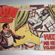 Tebeos: DON Z Nº 66 ED. MAGA. ORIGINAL..LA VUELTA DE DON DIEGO VELASCO. Lote 273266123