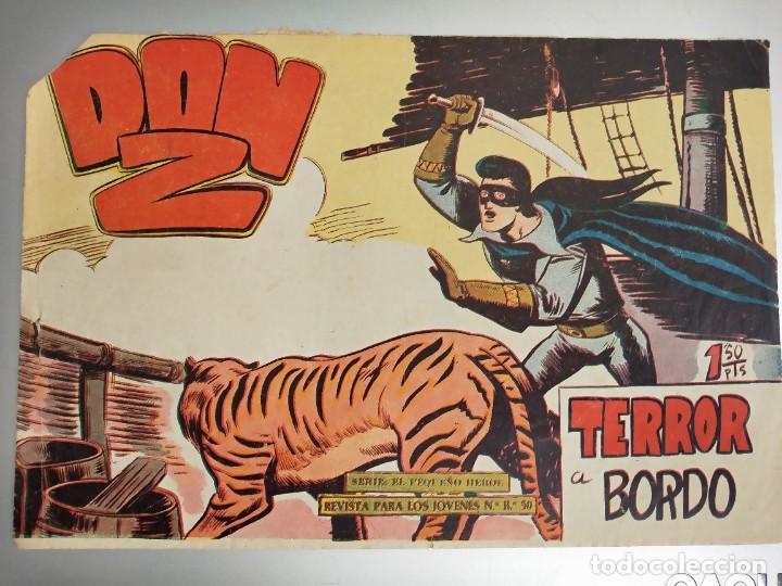 DON Z - Nº 82 - EDITORIAL MAGA . ORIGINAL. TERROR A BORDO (Tebeos y Comics - Maga - Don Z)
