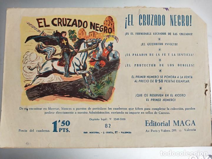 Tebeos: Don Z - Nº 82 - Editorial Maga . ORIGINAL. TERROR A BORDO - Foto 2 - 273272978