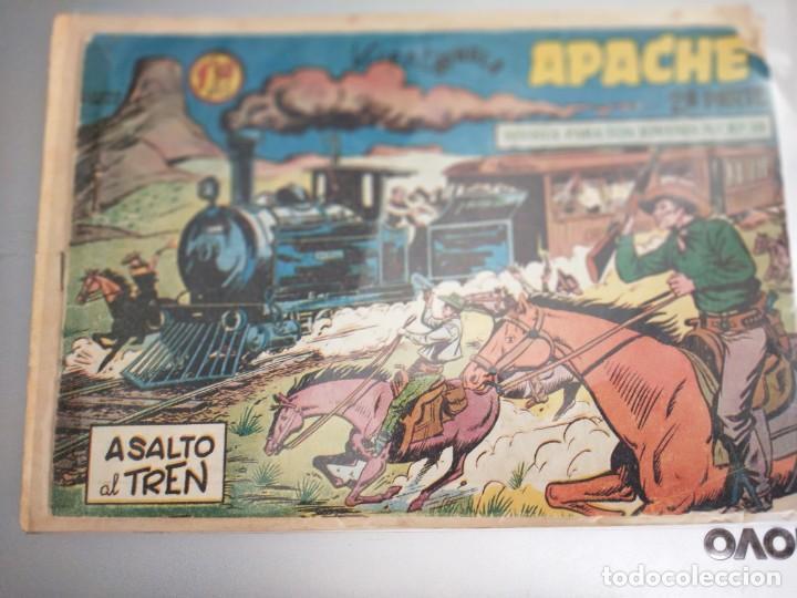 APACHE, ASALTO AL TREN (JUNGLA)- SEGUNDA PARTE- Nº13, ORIGINAL- EDITORIAL MAGA. (Tebeos y Comics - Maga - Apache)