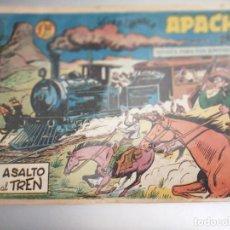 Tebeos: APACHE, ASALTO AL TREN (JUNGLA)- SEGUNDA PARTE- Nº13, ORIGINAL- EDITORIAL MAGA.. Lote 273390303