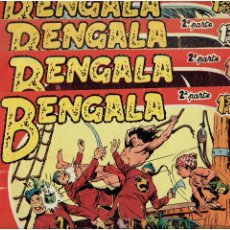 Tebeos: ARCHIVO * BENGALA * 2º PARTE * Nº 3, 6, 9, 12, * ED. MAGA 1960 * ORIGINALES *. Lote 273431688