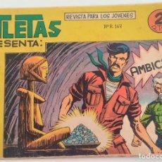 Livros de Banda Desenhada: ATLETAS REVISTA PARA LOS JÓVENES PRESENTA AFRICA Nº 72 - AMBICIÓN - EDITORIAL MAGA. Lote 275526113