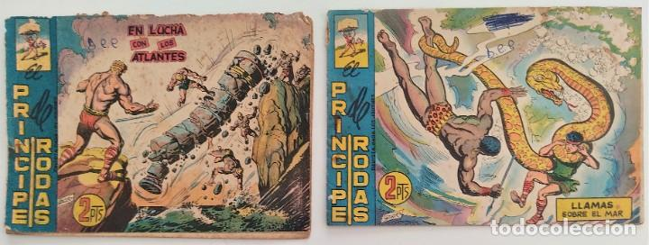 Tebeos: LOTE 12 TEBEOS ORIGINALES EL COLOSO Y EL PRINCIPE DE RODAS - EDITORIAL MAGA - Foto 7 - 275537843