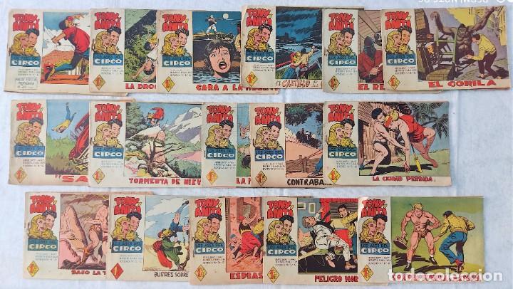 LOTE 16 TEBEOS ORIGINALES TONY Y ANITA, LOS ASES DEL CIRCO - EDITORIAL MAGA (Tebeos y Comics - Maga - Tony y Anita)