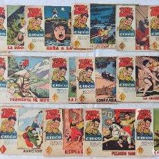 Tebeos: LOTE 16 TEBEOS ORIGINALES TONY Y ANITA, LOS ASES DEL CIRCO - EDITORIAL MAGA. Lote 275608883
