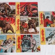 Giornalini: LOTE TEBEOS COLECCIÓN ÁFRICA ORIGINALES ¡EN PERFECTO ESTADO! MAGA 1964. Lote 275749823