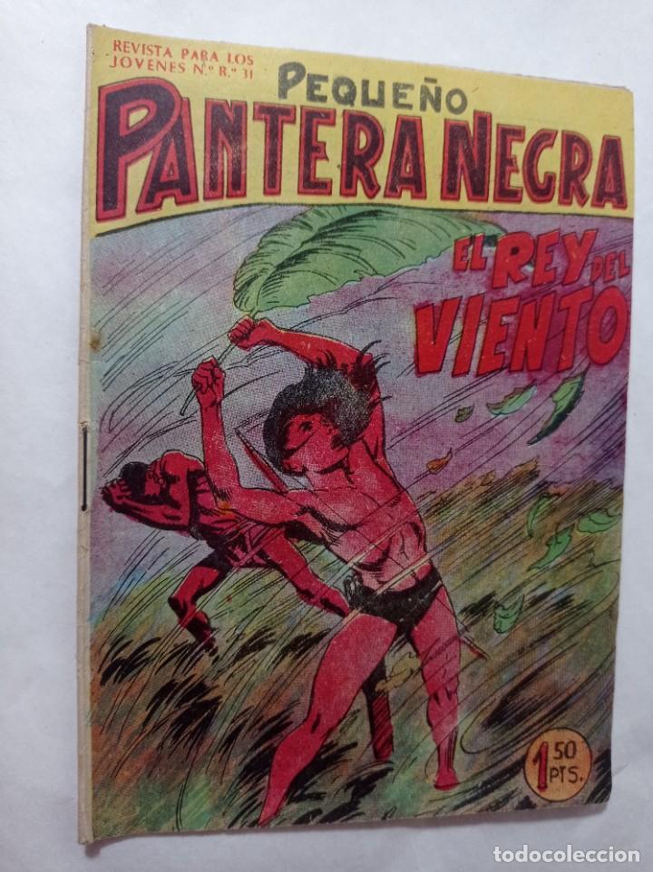 CÓMIC PEQUEÑO 122 ORIGINAL NO COPIA PEQUEÑO PANTERA NEGRA. EL REY DEL VIENTO MAGA 1958 REF240 (Tebeos y Comics - Maga - Pantera Negra)