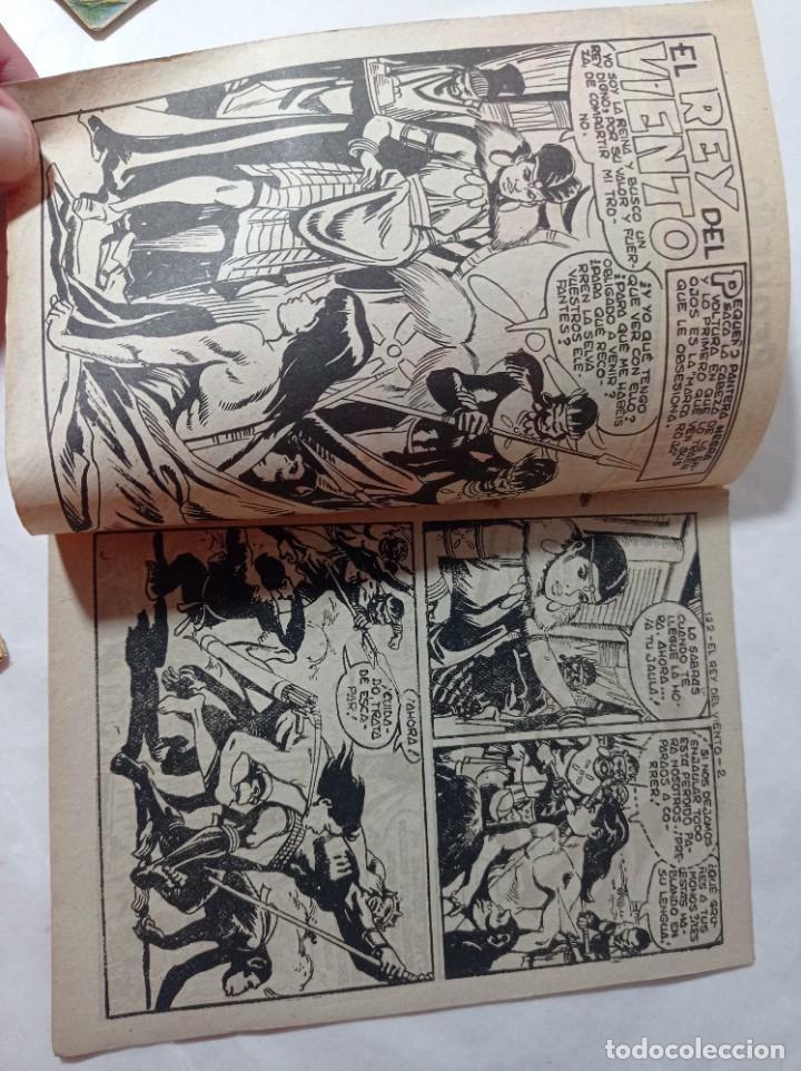 Tebeos: cómic pequeño 122 Original no copia pequeño pantera negra. El rey del viento maga 1958 Ref240 - Foto 2 - 275855688