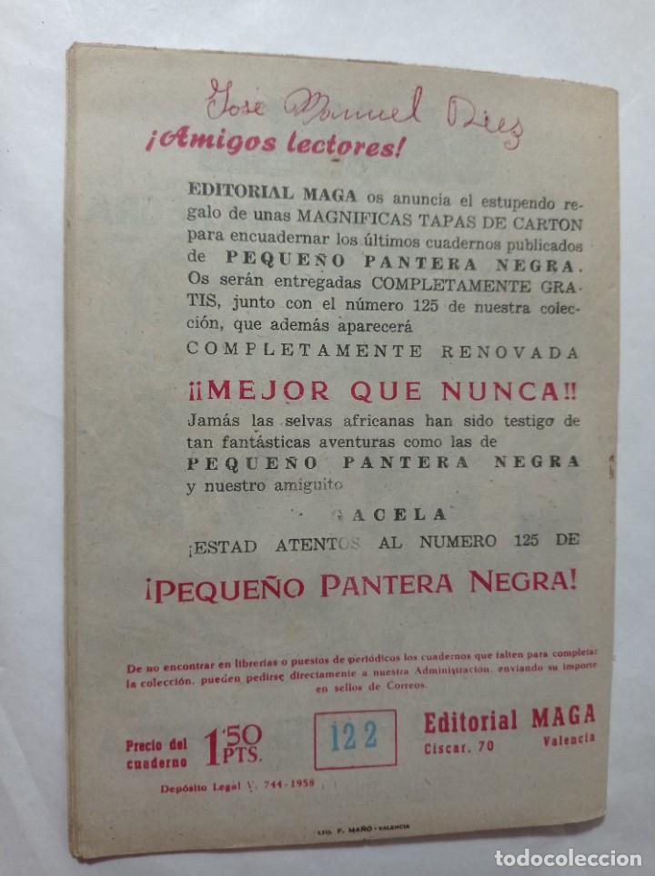 Tebeos: cómic pequeño 122 Original no copia pequeño pantera negra. El rey del viento maga 1958 Ref240 - Foto 3 - 275855688