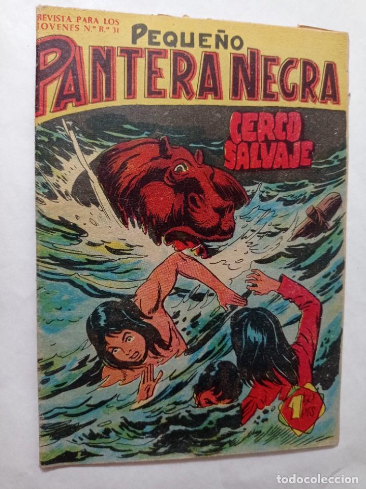 CON MI PEQUEÑO 118 ORIGINAL NO COPIA PEQUEÑO PANTERA NEGRA. CERCO SALVAJES MAGA 1958 REF240 (Tebeos y Comics - Maga - Pantera Negra)
