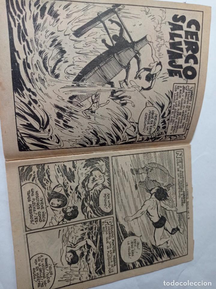 Tebeos: con mi pequeño 118 Original no copia pequeño pantera negra. Cerco salvajes maga 1958 Ref240 - Foto 2 - 275855923