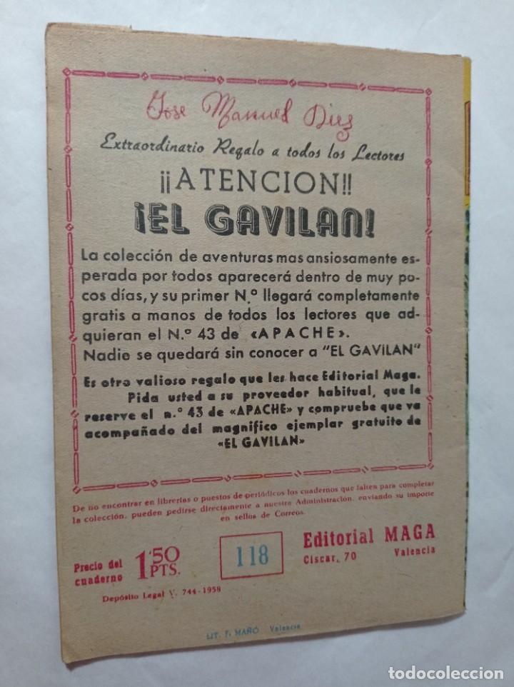 Tebeos: con mi pequeño 118 Original no copia pequeño pantera negra. Cerco salvajes maga 1958 Ref240 - Foto 3 - 275855923
