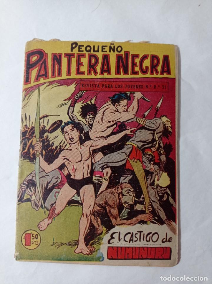 COMICS PEQUEÑO 66 ORIGINAL NO COPIA PEQUEÑO PANTERA NEGRA. EL CASTIGO DE NUMUNURU MAGA 1958 REF240 (Tebeos y Comics - Maga - Pantera Negra)