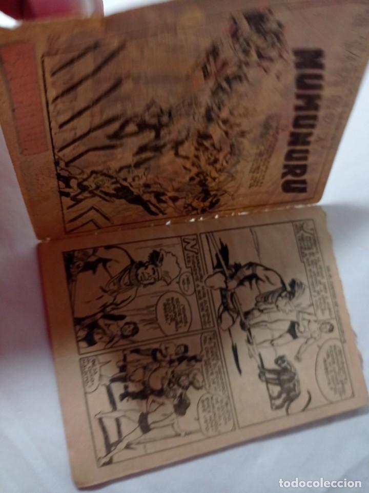 Tebeos: comics pequeño 66 Original no copia pequeño pantera negra. El castigo de numunuru maga 1958 ref240 - Foto 2 - 275856143