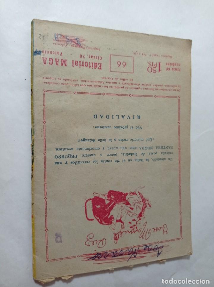 Tebeos: comics pequeño 66 Original no copia pequeño pantera negra. El castigo de numunuru maga 1958 ref240 - Foto 3 - 275856143