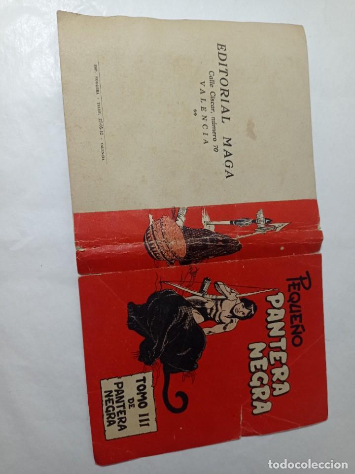 ORIGINAL NO COPIA PEQUEÑO PANTERA NEGRA. PORTADA ORIGINAL TOMO III MAGA 1958 REF240 (Tebeos y Comics - Maga - Pantera Negra)