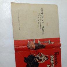Tebeos: ORIGINAL NO COPIA PEQUEÑO PANTERA NEGRA. PORTADA ORIGINAL TOMO III MAGA 1958 REF240. Lote 275856518
