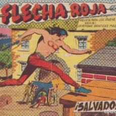 Tebeos: FLACHA ROJA : NUMERO 33 SALVADOS, EDITORIAL MAGA. Lote 276125913
