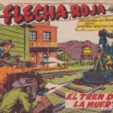 Tebeos: FLACHA ROJA : NUMERO 31 EL TREN DE LA MUERTE, EDITORIAL MAGA. Lote 276126228