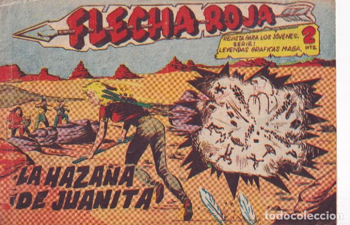 FLACHA ROJA : NUMERO 29 LA HAZAÑA DE JUANITA, EDITORIAL MAGA (Tebeos y Comics - Maga - Flecha Roja)