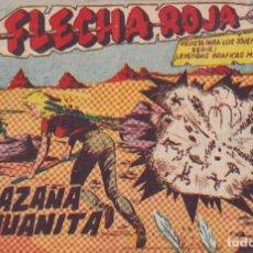 BDs: FLACHA ROJA : NUMERO 29 LA HAZAÑA DE JUANITA, EDITORIAL MAGA. Lote 276126528