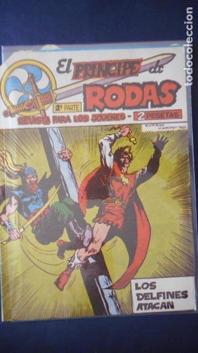 EL PRINCIPE DE RODAS Nº 40 (Tebeos y Comics - Maga - Otros)