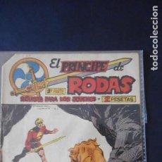 Tebeos: EL PRINCIPE DE RODAS Nº 43. Lote 276258243