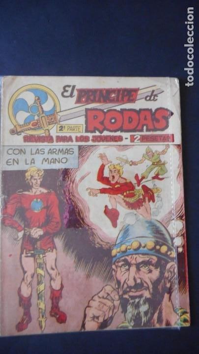 EL PRINCIPE DE RODAS Nº 45 (Tebeos y Comics - Maga - Otros)