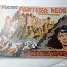 Tebeos: ORIGINAL NO COPIA. PEQUEÑO PANTERA NEGRA LA MURALLA VENCIDA 214 MAGA AÑO 1958. Lote 276461703