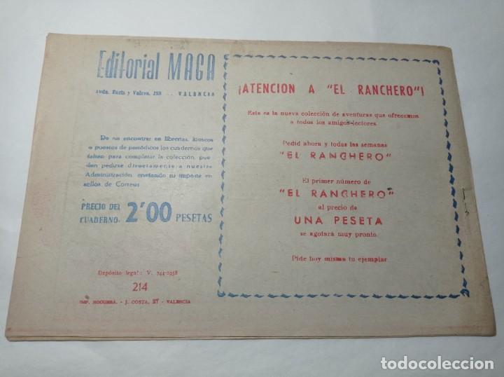 Tebeos: Original no copia. Pequeño pantera negra la muralla vencida 214 maga año 1958 - Foto 2 - 276461703