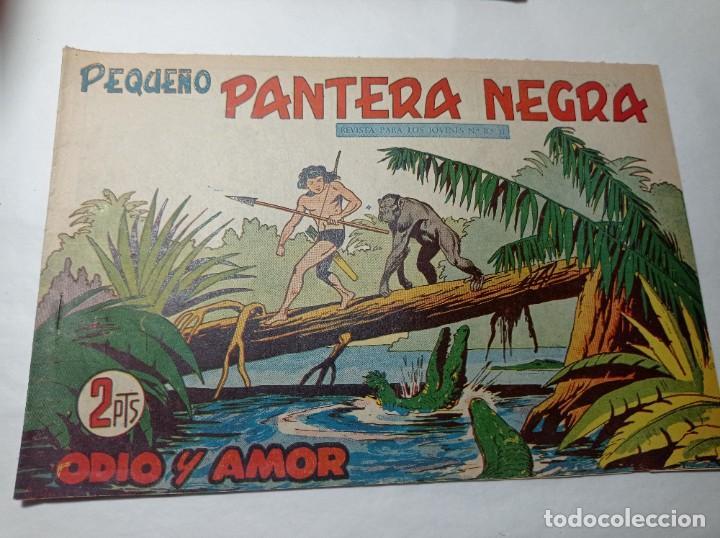 ORIGINAL NO COPIA. PEQUEÑO PANTERA NEGRA ODIO Y AMOR 230 MAGA AÑO 1958 (Tebeos y Comics - Maga - Pantera Negra)