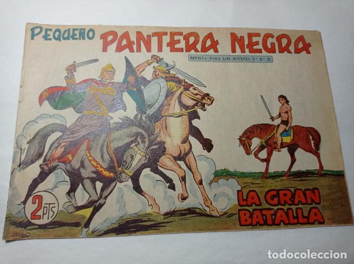 ORIGINAL NO COPIA. PEQUEÑO PANTERA NEGRA LA GRAN BATALLA 229 MAGA AÑO 1958 (Tebeos y Comics - Maga - Pantera Negra)