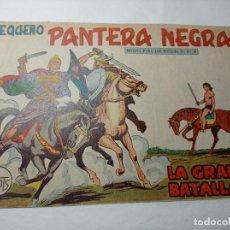 Tebeos: ORIGINAL NO COPIA. PEQUEÑO PANTERA NEGRA LA GRAN BATALLA 229 MAGA AÑO 1958. Lote 276462273