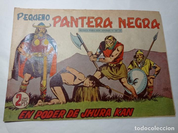 ORIGINAL NO COPIA. PEQUEÑO PANTERA NEGRA EN PODER DE JHURA KAN 227 MAGA AÑO 1958 (Tebeos y Comics - Maga - Pantera Negra)