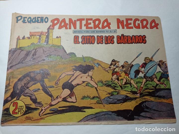 ORIGINAL NO COPIA. PEQUEÑO PANTERA NEGRA EL SITIO DE LOS BÁRBAROS NÚMERO 226 MAGA AÑO 1958 (Tebeos y Comics - Maga - Pantera Negra)