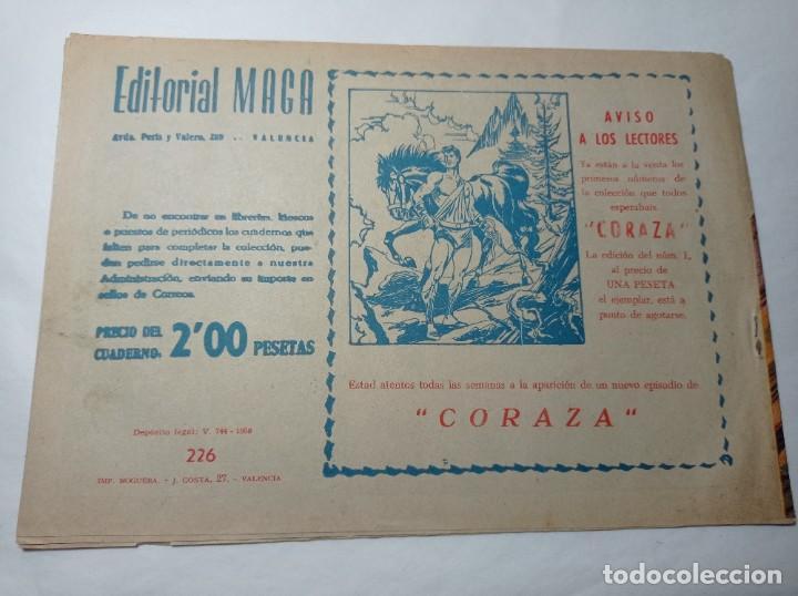 Tebeos: Original no copia. Pequeño pantera negra el sitio de los bárbaros número 226 maga año 1958 - Foto 2 - 276462593