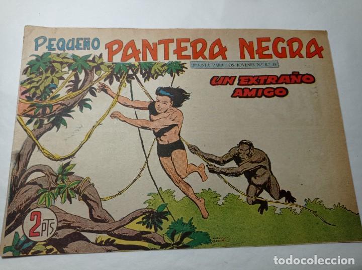 ORIGINAL NO COPIA. PEQUEÑO PANTERA NEGRA UN EXTRAÑO AMIGO 223 MAGA AÑO 1958 (Tebeos y Comics - Maga - Pantera Negra)