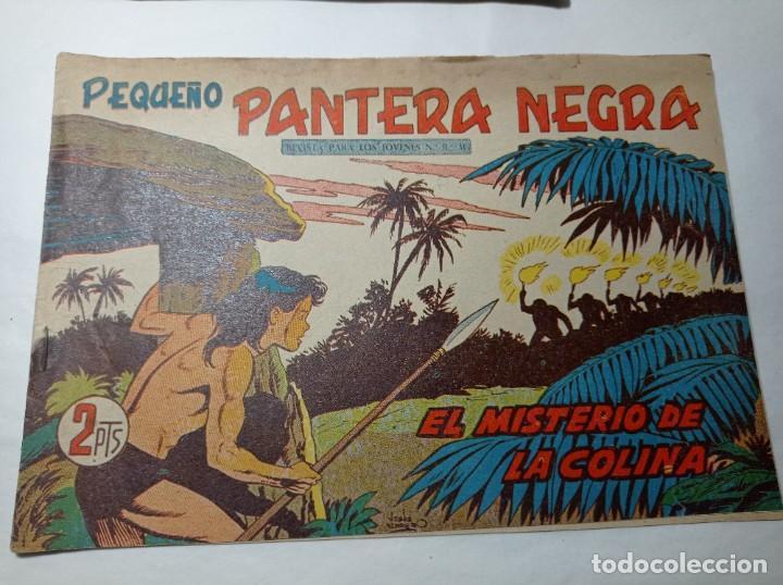ORIGINAL NO COPIA. PEQUEÑO PANTERA NEGRA EL MISTERIO DE LA COLINA 222 MAGA AÑO 1958 (Tebeos y Comics - Maga - Pantera Negra)