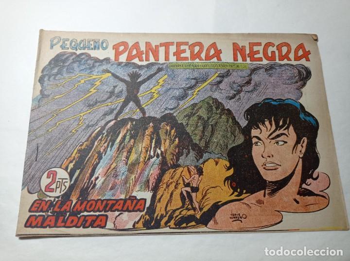 ORIGINAL NO COPIA. PEQUEÑO PANTERA NEGRA EN LA MONTAÑA MALDITA 217 MAGA AÑO 1958 (Tebeos y Comics - Maga - Pantera Negra)