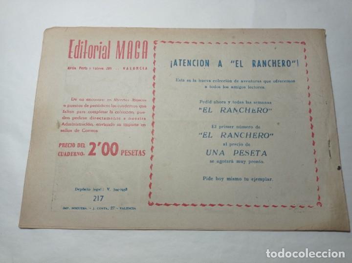 Tebeos: Original no copia. Pequeño pantera negra en la montaña maldita 217 maga año 1958 - Foto 2 - 276463338