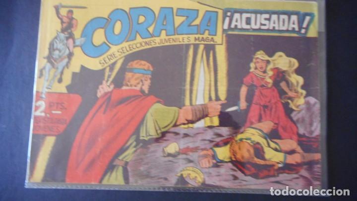 CORAZA Nº 50 (Tebeos y Comics - Maga - Otros)