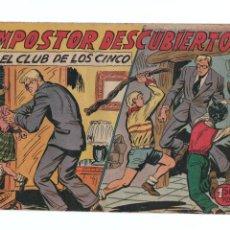 Tebeos: EL CLUB DE LOS CINCO Nº 23-ORIGINAL. Lote 276918208