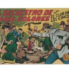 Tebeos: EL CLUB DE LOS CINCO Nº28 -ORIGINAL. Lote 276927583