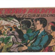 Tebeos: EL CLUB DE LOS CINCO Nº31 -ORIGINAL. Lote 276934303